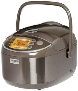 Zojirushi Induction Heating Pressure Rice Cooker & 10 Cups /
