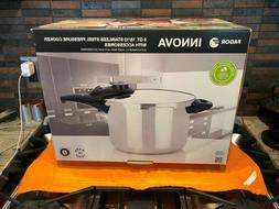 Fagor Innova 8qt 18/10 Stainless Steel Pressure Cooker with