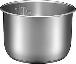 Insignia 6-Quart Stainless Steel Pressure Cooker Pot