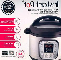 Instant Pot 7-in-1Multi-Use Programmable Pressure Cooker, 8