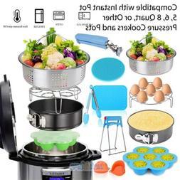 For Instant Pot Accessories Set 6 qt 8 Quart Pressure Cooker