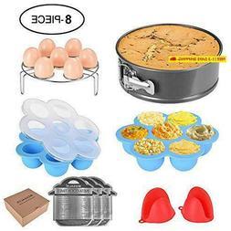 instant pot accessories set 8 pcs pressure