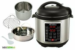 Instant Pot Pressure Cooker 10 in 1 Programmable 8 Quart Ele