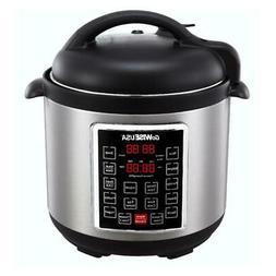 Instant Pot Pressure Cooker 10 in 1 Programmable 6 Quart Ele
