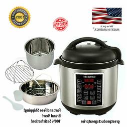 Instant Pot Pressure Cooker 12 in 1 Programmable Electric St