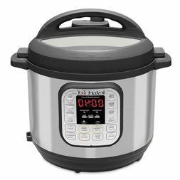 Instant Pot Pressure Cooker 7 in 1 Programmable 6 Quart Elec