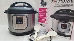 Instant Pot IP-DUO60 7-in-1 Programmable Pressure Cooker, 6Q