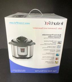 Instant Pot IP-LUX60 v2 6-in-1 Programmable Pressure Cooker,