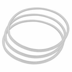 Kitchen Rubber Pressure Cooker Pot Sealing Gasket Ring Clear