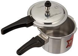 Kraft 2.5L Aluminum Pressure Cooker, 2.5-Liter
