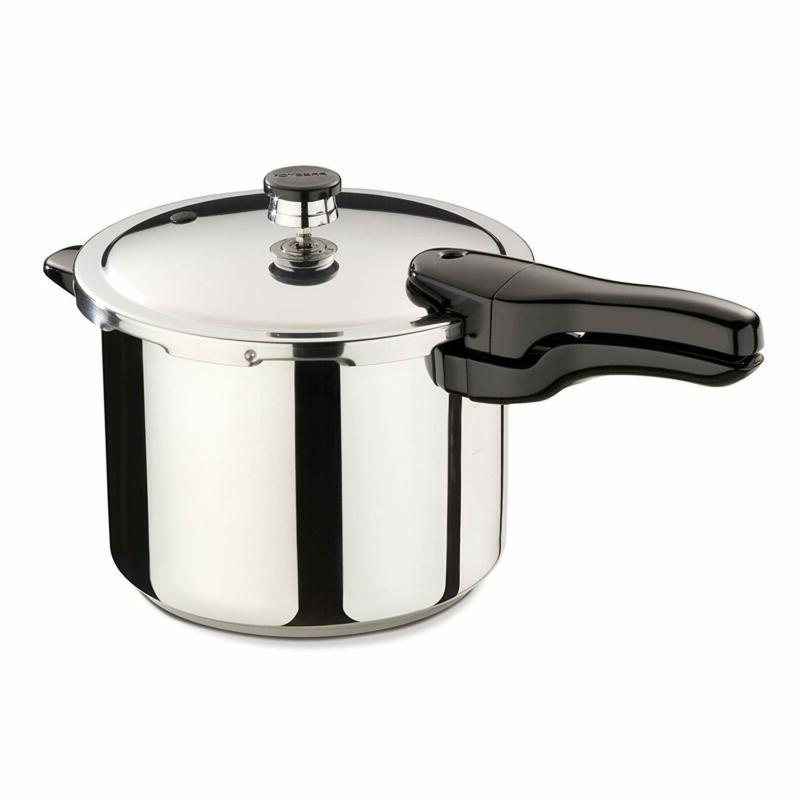 01362 6 quart stainless steel pressure cooker