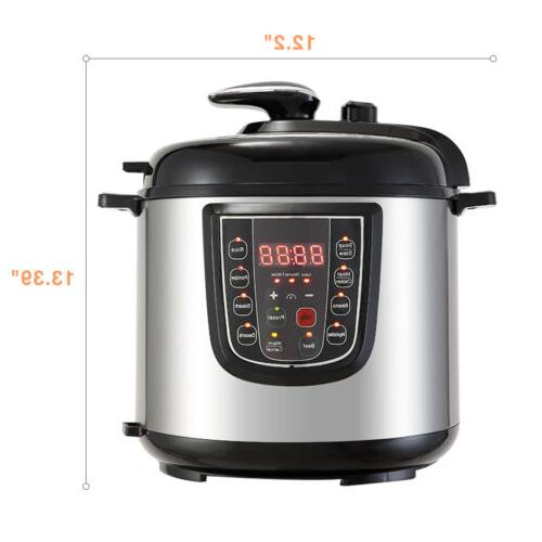 1000W Pressure 9-in-1 Electric Slow
