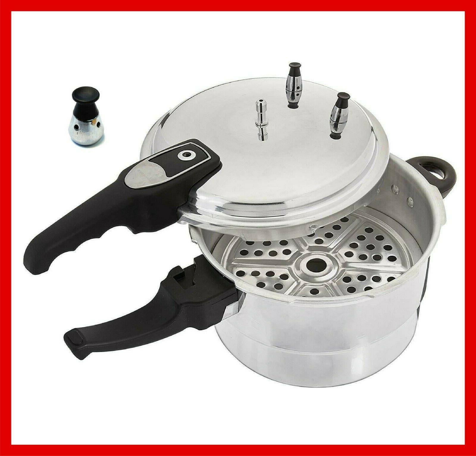 Aluminum Cooker With Steamer Fast