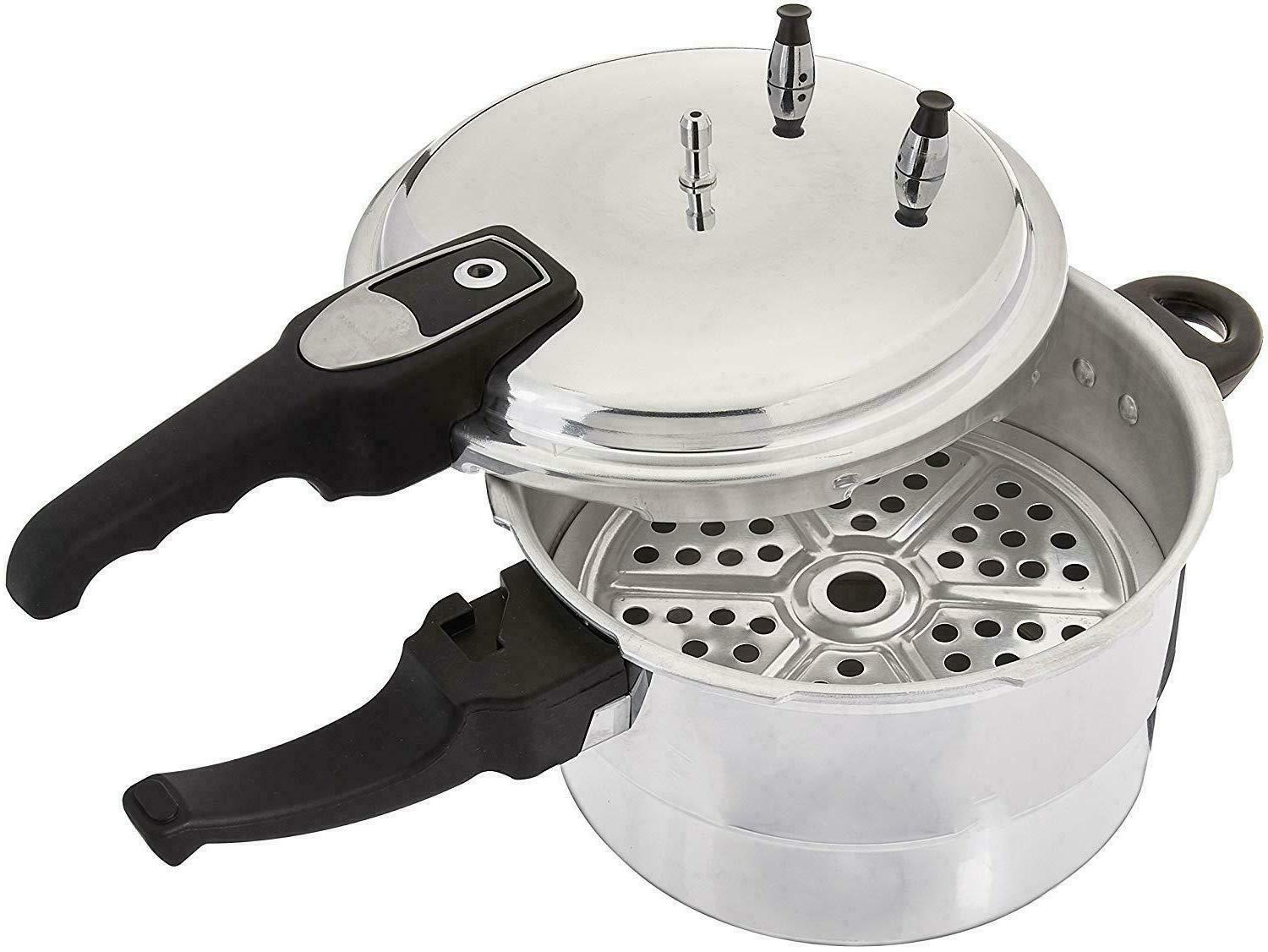 1050 aluminum fast pressure cooker with steamer