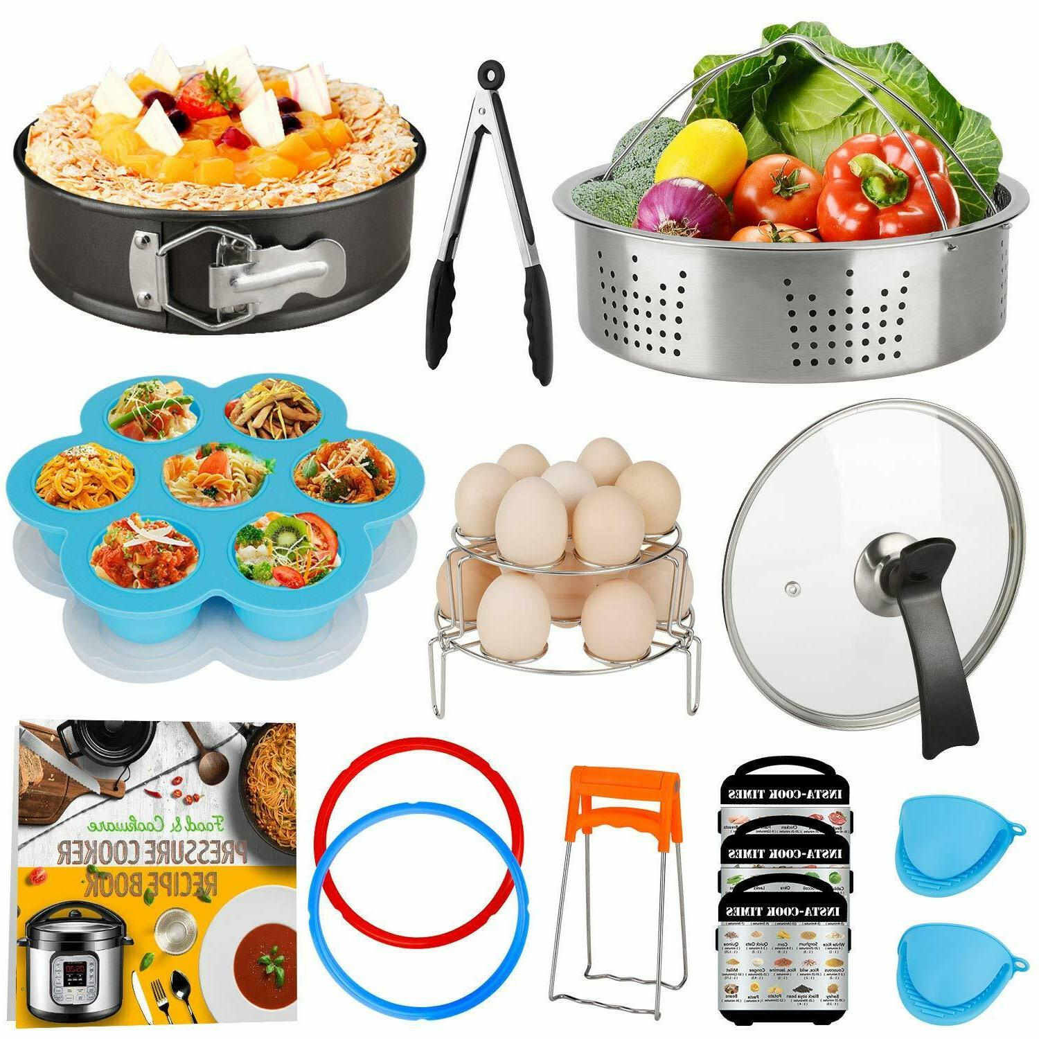 14 pieces pressure cooker accessories set compatible