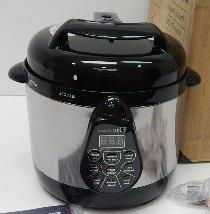 ELITE BISTRO 2 QT ELECTRIC DIGITAL PRESSURE COOKER