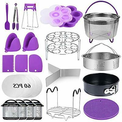 22 pcs pressure cooker accessories set compatible