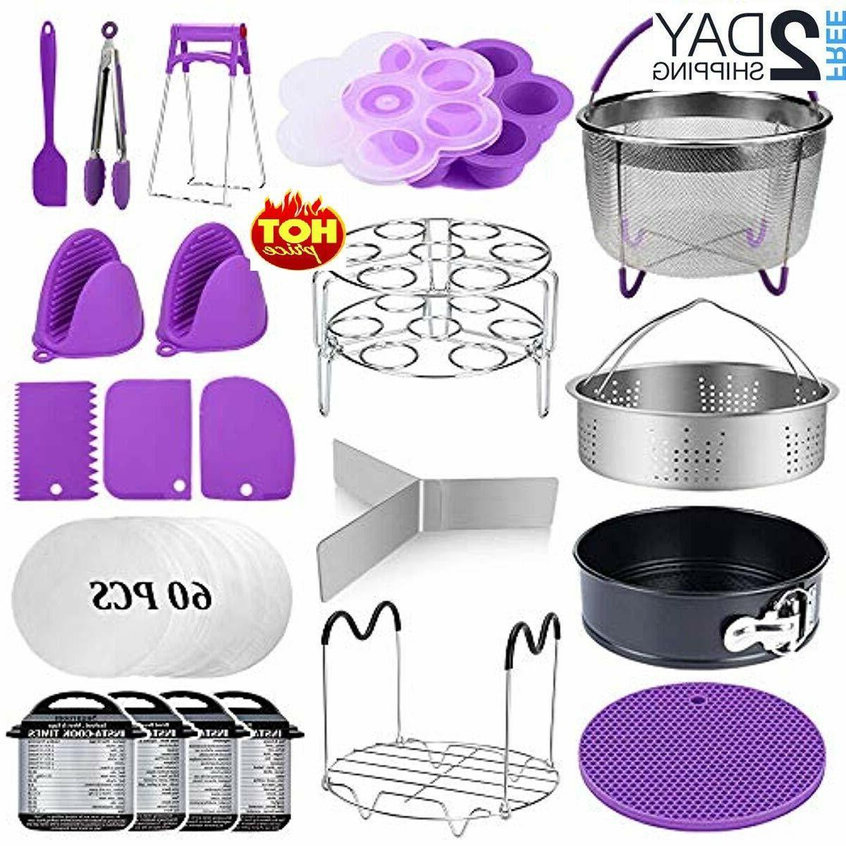 22 pcs pressure cooker accessories set compatible