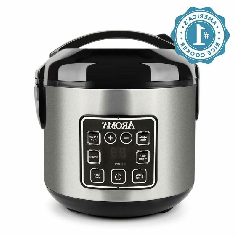 2Qt Pressure Cooker Slow Mini Crock Pot Instant Small Aroma