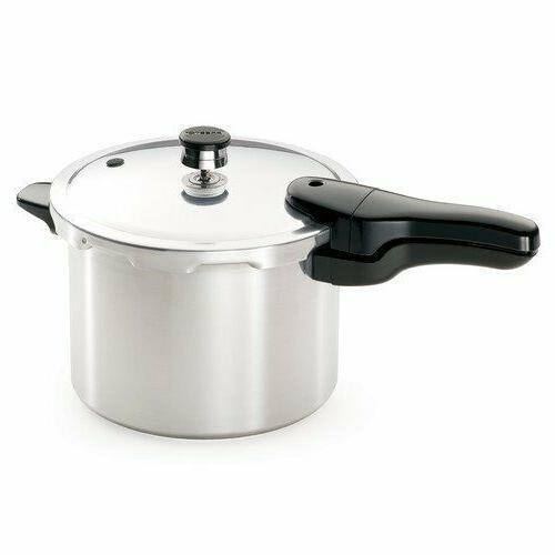 Presto  4-Quart Aluminum Pressure Cooker Small Kitchen Appli