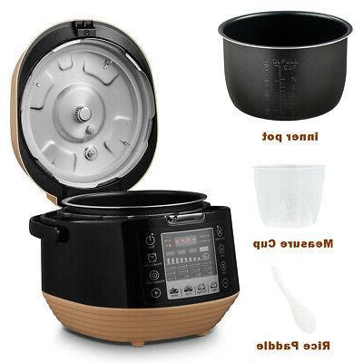 5.3 Qt 12-in-1 Pressure Cooking