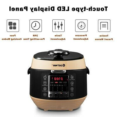 5.3 Pressure Cooker Programmable Cooking