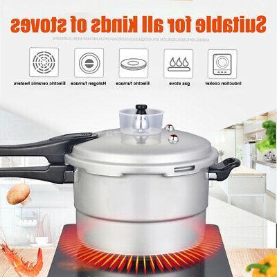 6 Quart Aluminum Pressure Cooker Fast Cooker Cookware for Ho