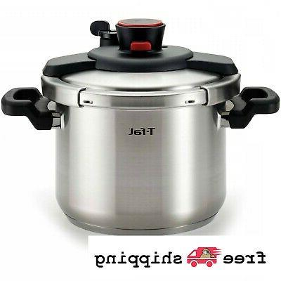 6 3 quart t fal clipso stainless