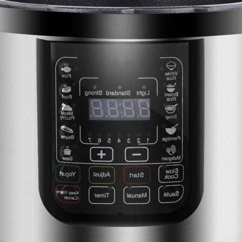 Electric Pressure Cooker Home Kitchen Appliance 10 Presets