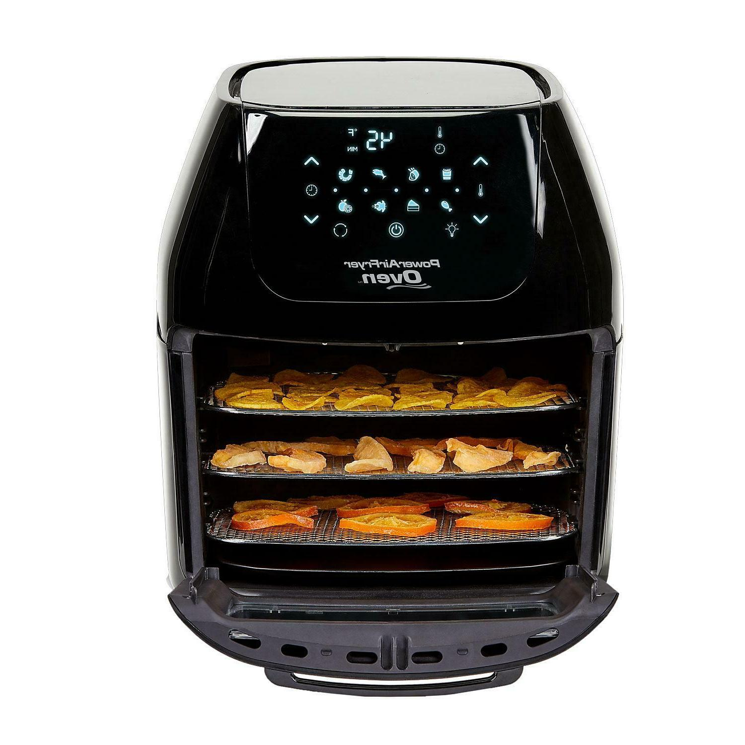 6 Qt Power Air Fryer Oven With 7