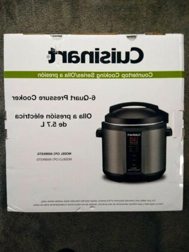 Cuisinart 6-Quart Electric Pressure Ship!