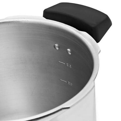 6-Quart Pressure Fast Cooker Large Capacity