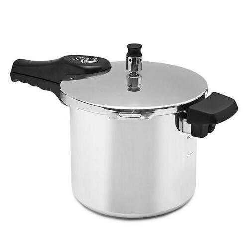 6 quart aluminum pressure fast pot kitchen