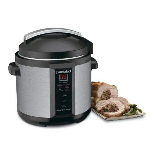 Cuisinart 6-Quart Electric Cooker, Stainless Matte