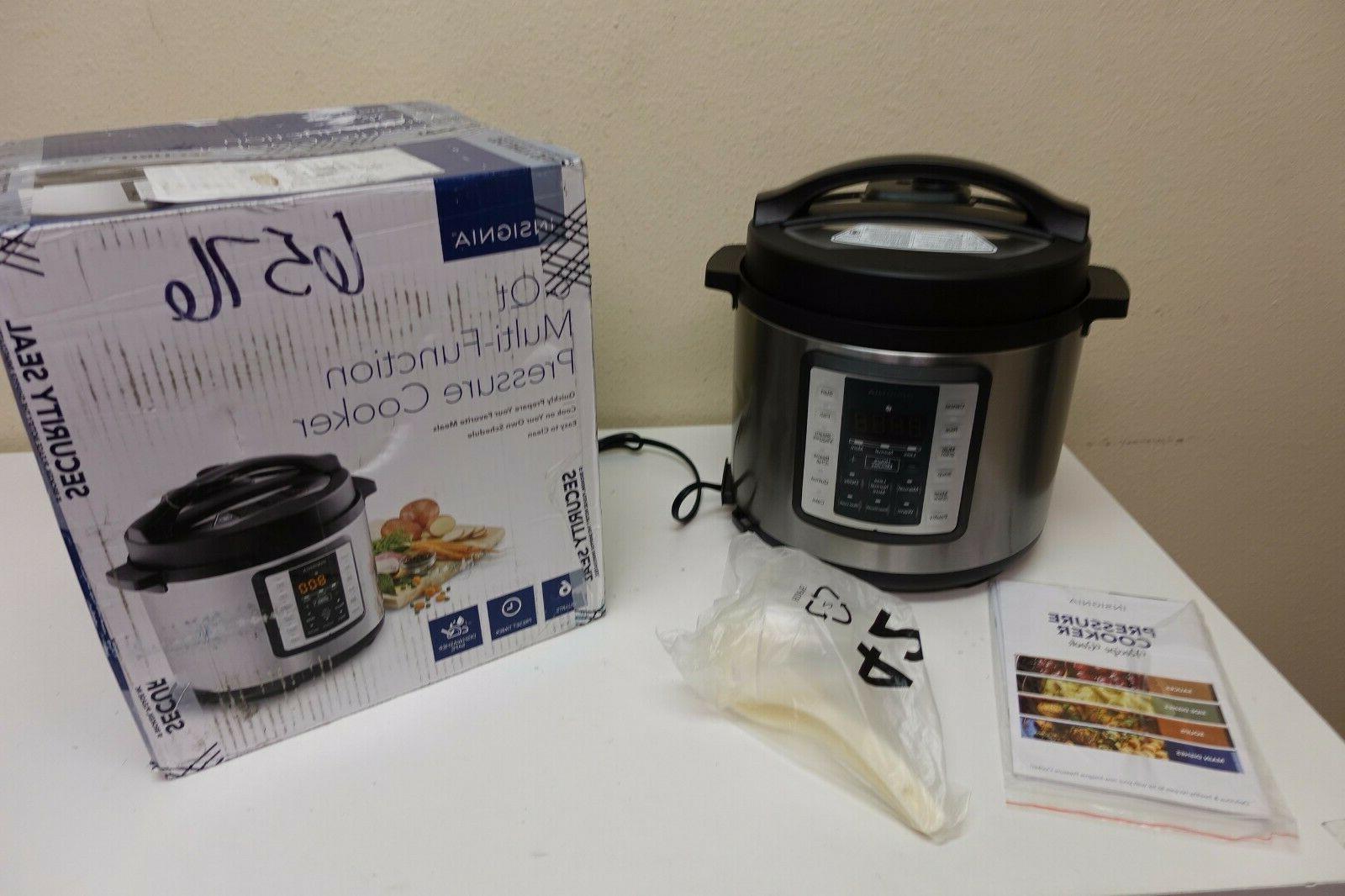 6 quart multi function pressure cooker stainless