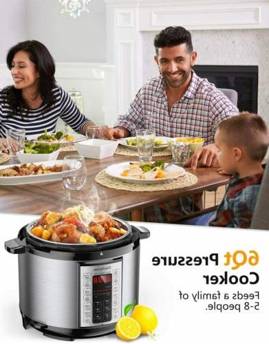 Elechomes 6Qt Cooking Multi-Cooker US Stock