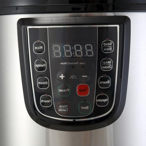 1000W Electric Multifunction Pressure Stainless Steel