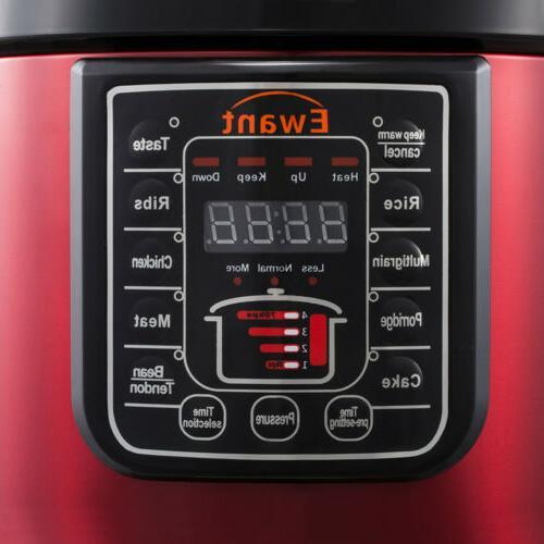 Pressure 6 Multi-Use Cake maker Stainless Steel USA