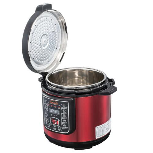 Pressure Multi-Use Stainless Steel Red