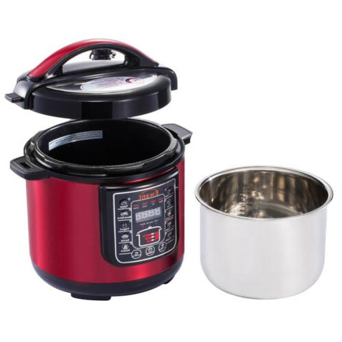 Pressure Multi-Use maker Stainless Red