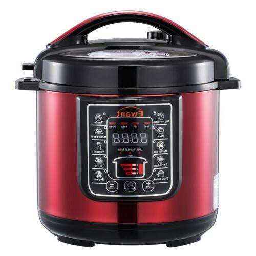pressure cooker 6 qt multi use programmable