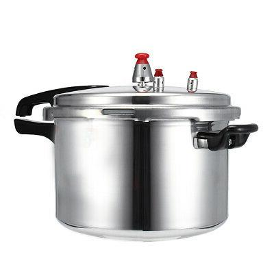 Aluminum Alloy Pressure Cooker Rust-Proof Kitchen Tool Easy Clean Cookware 4-6L