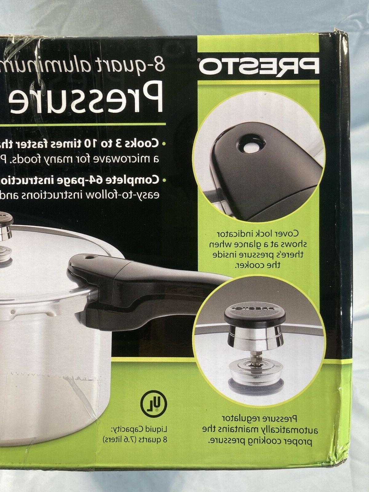 Presto Quart Pressure Cooker. Gas, Electric and Top.