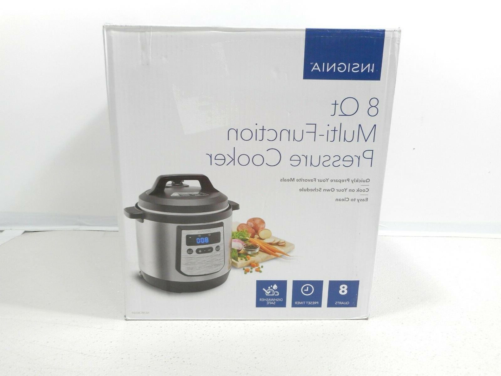 8 quart multi function pressure cooker stainless