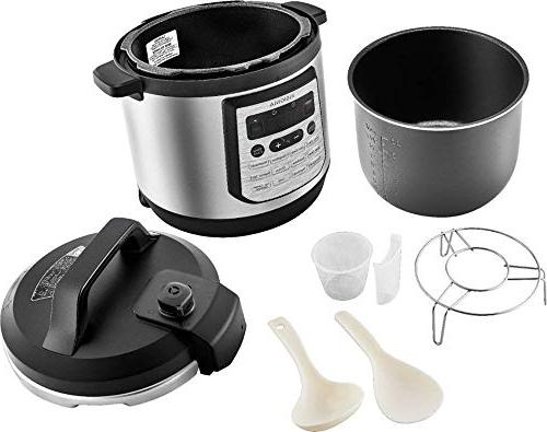Insignia- Multi-Function Cooker Steel