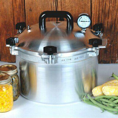 All American 21.5 Quart Pressure Cooker