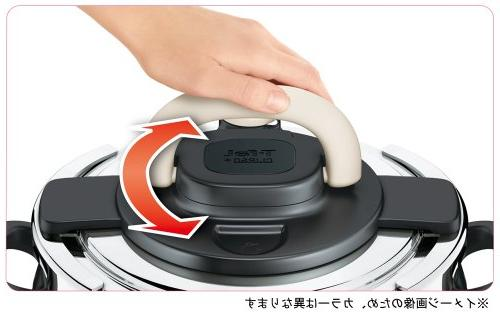 "T-fal cooker""Kuripuso arch"" one-touch IH corresponding 6L"