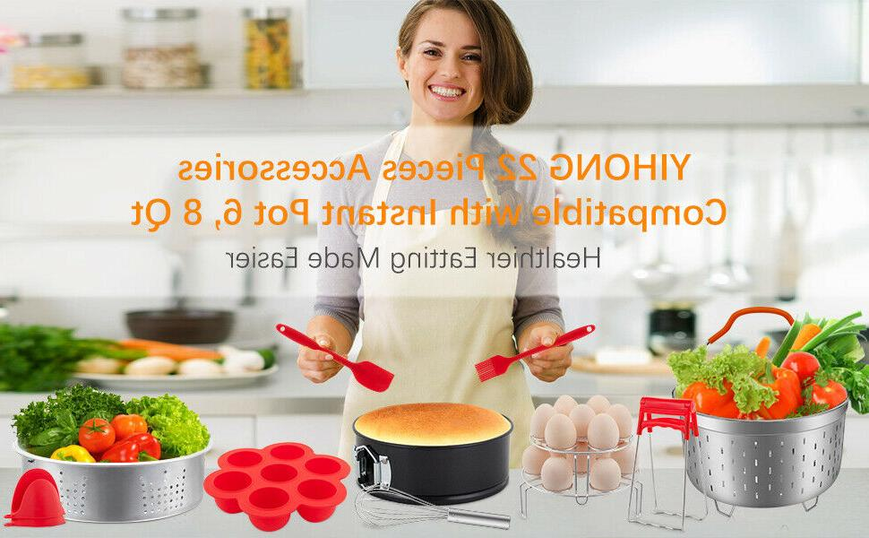 Accessories for Instant 6 Pressure Cooker Pcs