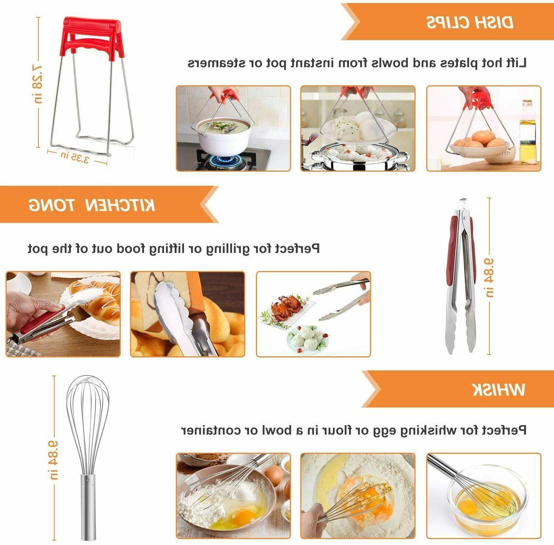 Accessories 6 8 Qt, Cooker Pcs