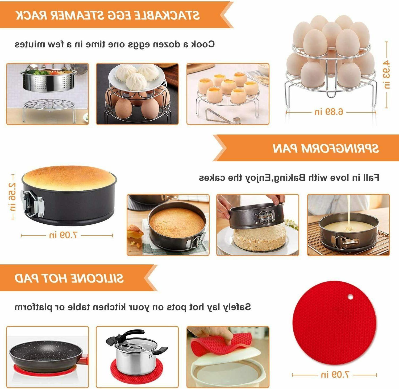 Accessories for Instant Pot 6 Cooker Set Pcs